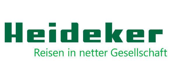 Logo Heideker Reisen GmbH