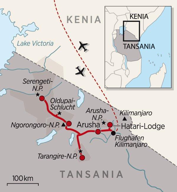 Tansania_Karte_2015