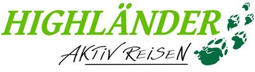 Logo HIGHLÄNDER REISEN GMBH