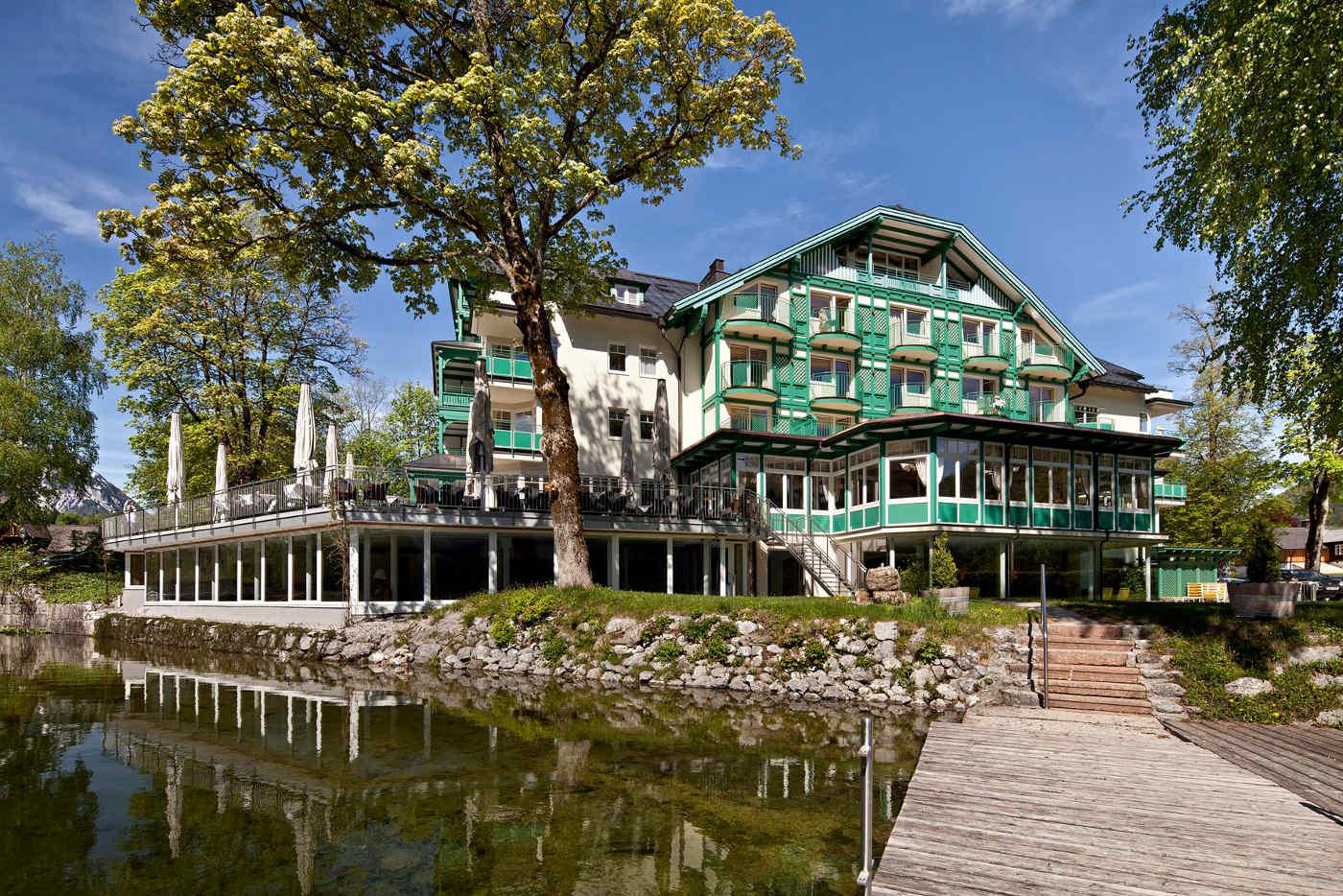 Hotel Seevilla von Außen