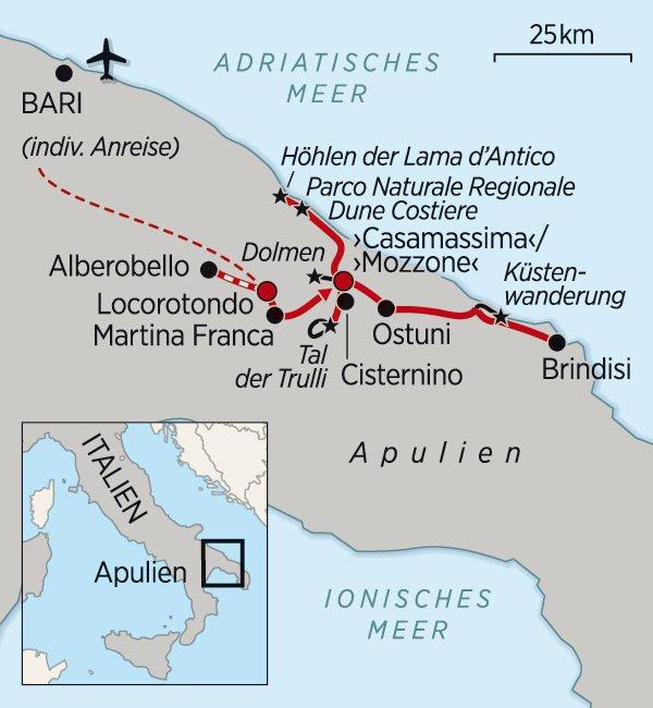 Apulien-Wandern_Karte_2016