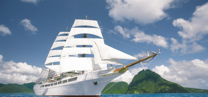 Sea Cloud II vor Costa Rica