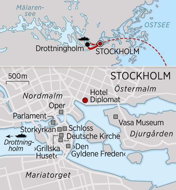 Karte Stockholm