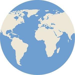 Reiseicon Welt
