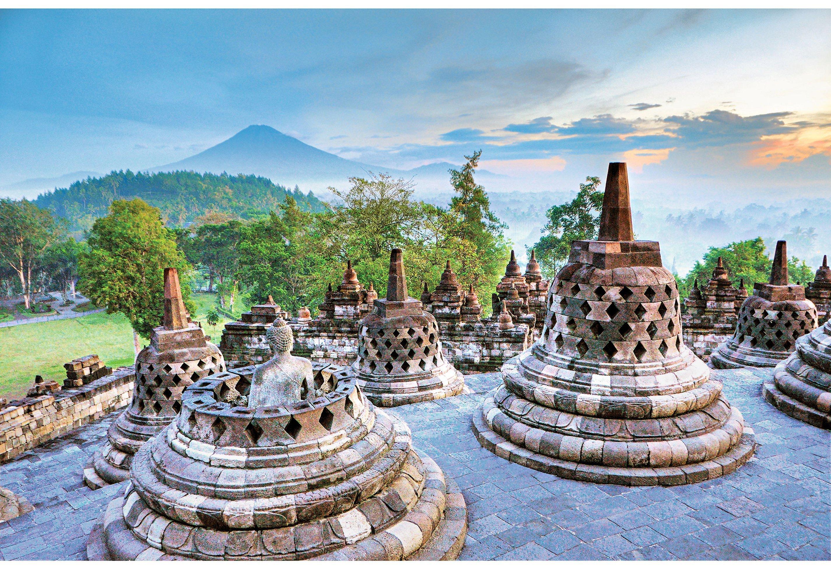 Borobudur - die größten buddhistischen Tempelanlagen Südostasiens