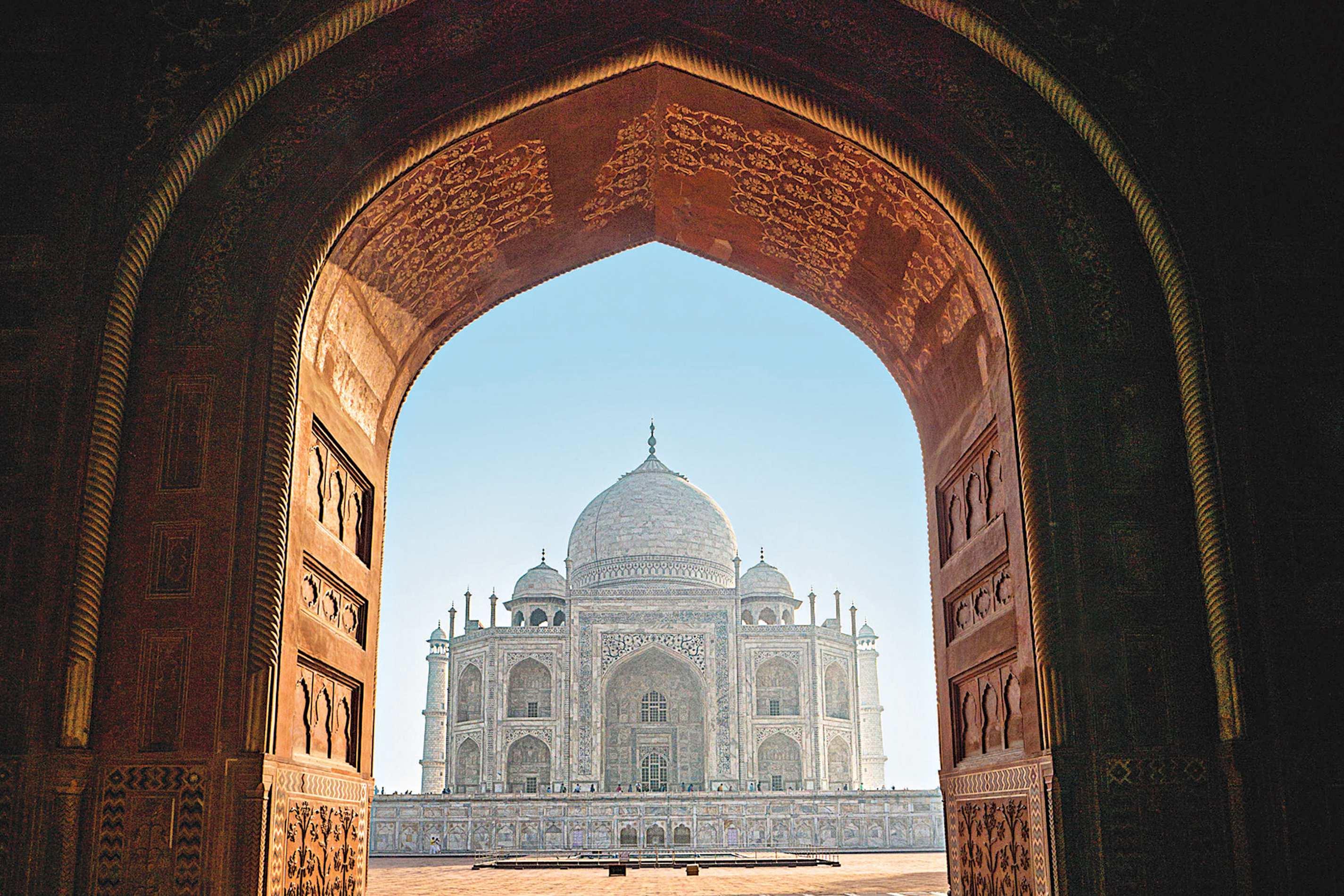 Marmorne Pracht – Taj Mahal