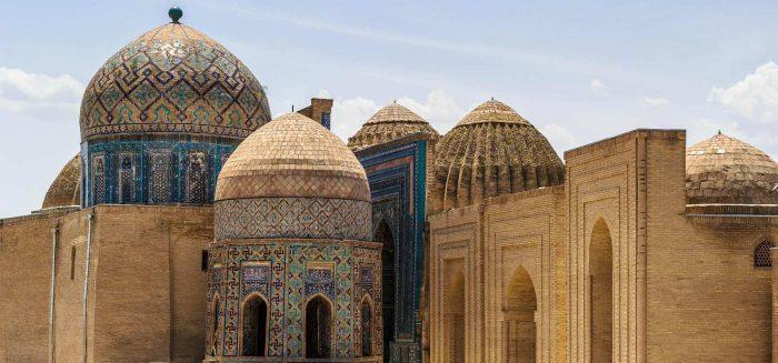 Oasenstadt Samarkand in Usbekistan