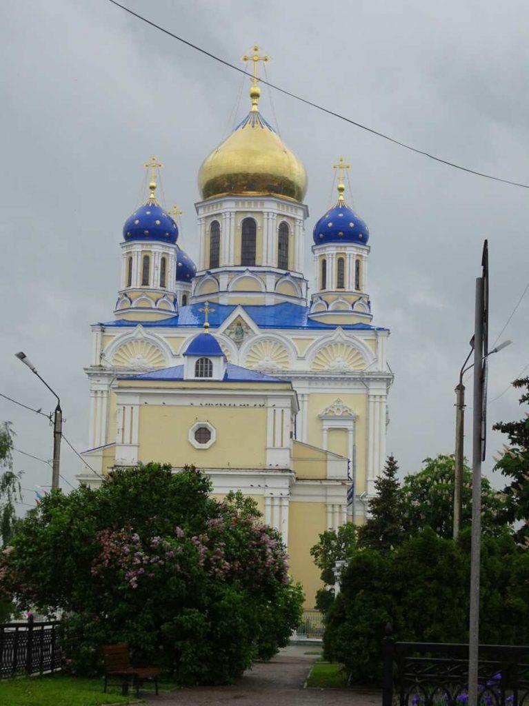 Die Erlöser-Kirche in Woronesch