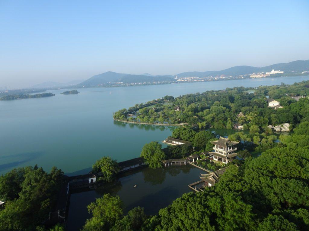 Der Tai Hu See im Morgenlicht (Annette Boeddinghaus )