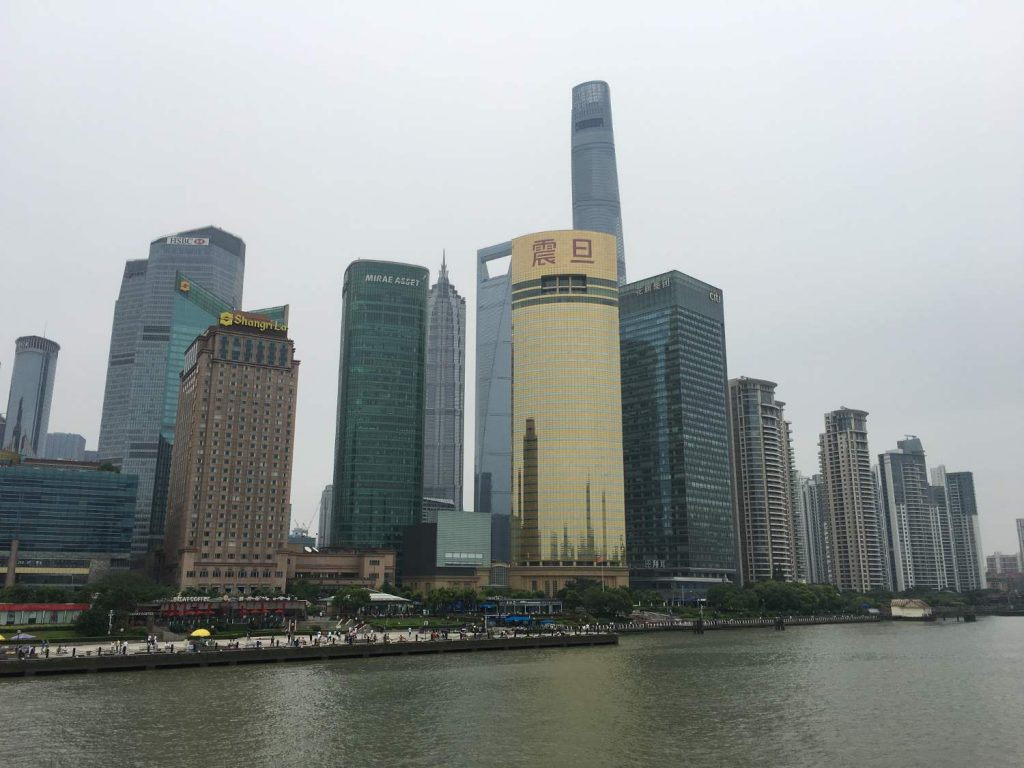 Das Panorama in Pudong (Thomas Peters)