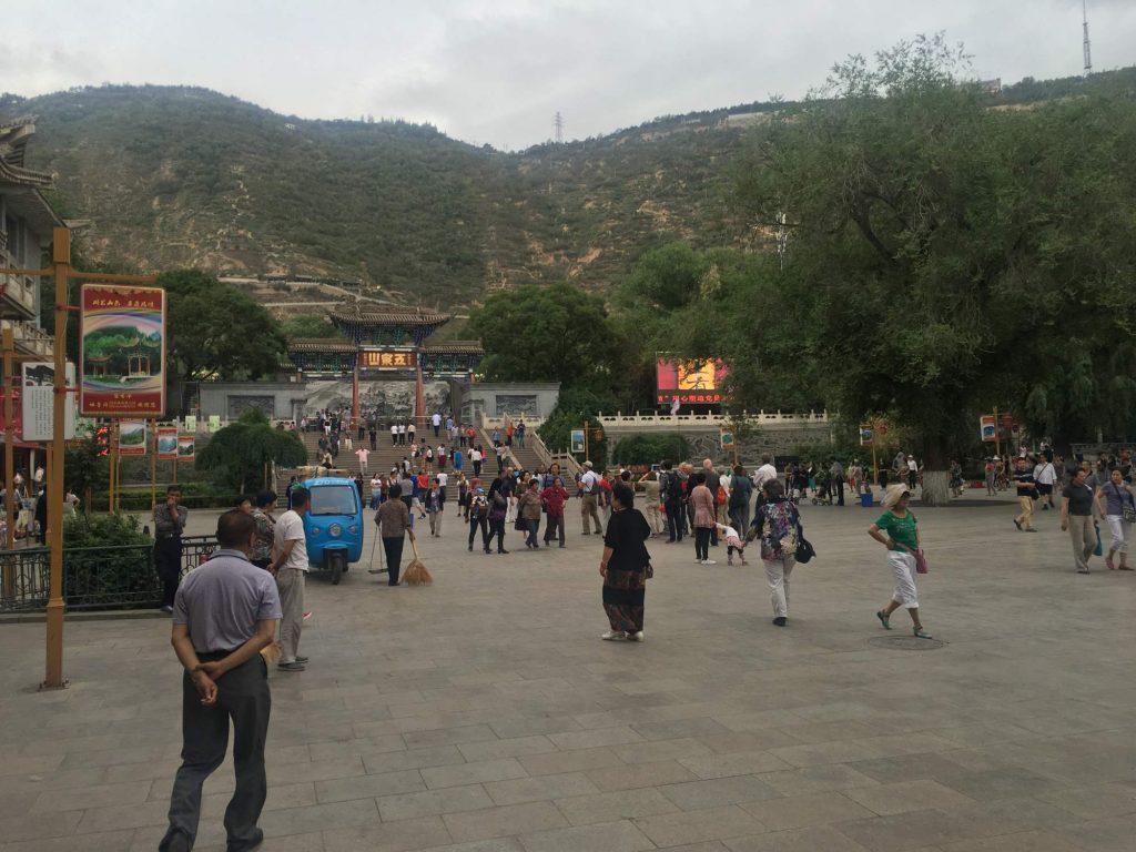Erdbebensammelplatz in Lanzhou (Thomas Peters)