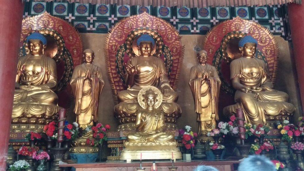 Blick in Shaolin Tempel (Angelika Holtz)