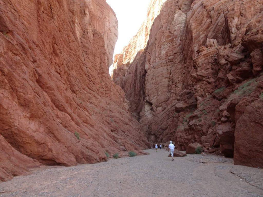 Im Tien Shan Grand Canyon (Annette Böddinghaus)