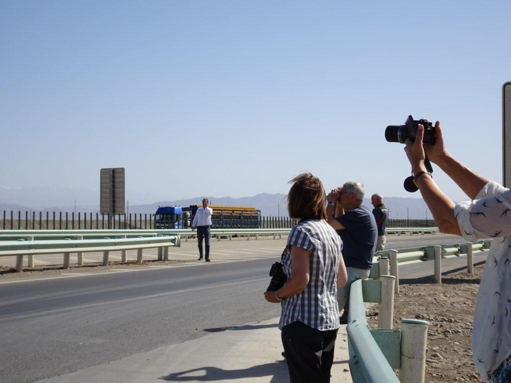 Fotografieren auf der Autobahn ( Annette Böddinghaus)