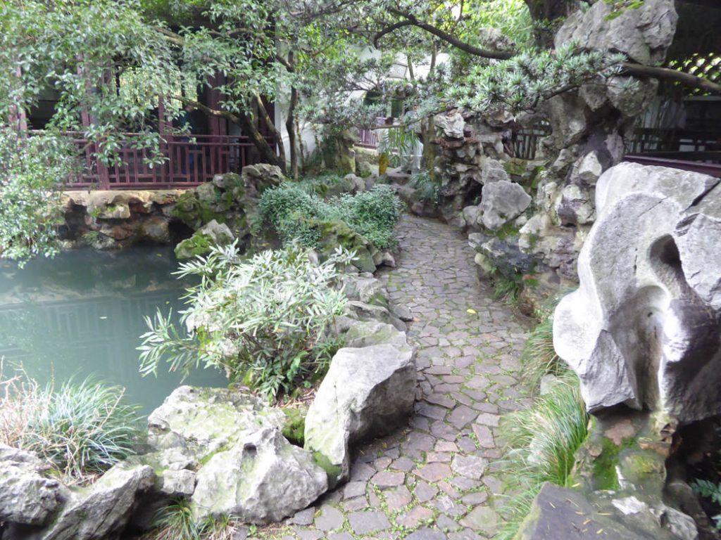 Ein privater Garten in Wuxi (Dirk Schröder)