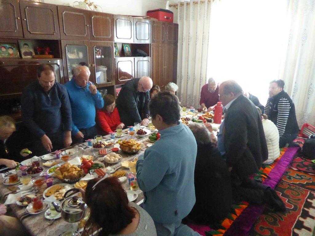 Frühstück im Gästehaus