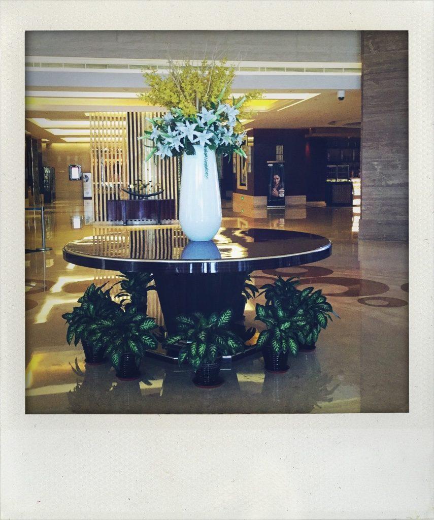Hoteleingangshalle in Bengbu (Tomas Kaiser)