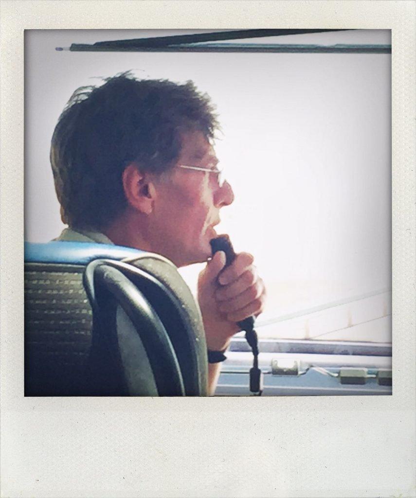 Rainer Shelp berichtet über die Mongolei (Tomas Kaiser)