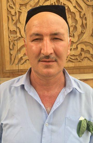 Tag 23 In der Moschee in Taschkent, Usbekistan