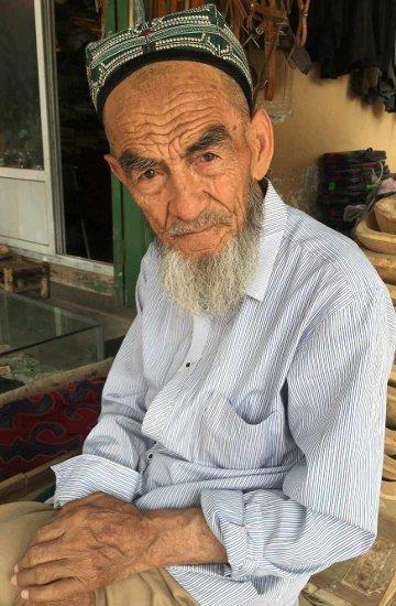 28. Tag: Mittagspause in Kashgar, China (Thomas Peters)