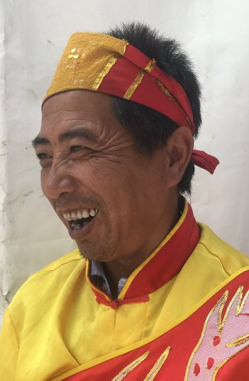 42. Tag: Trommler in Lanzhou (Thomas Peters)