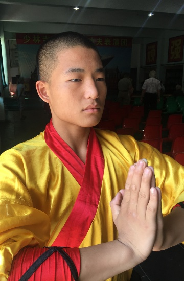 46.Tag: Shaolin Schule in Songshan (Thomas peters)