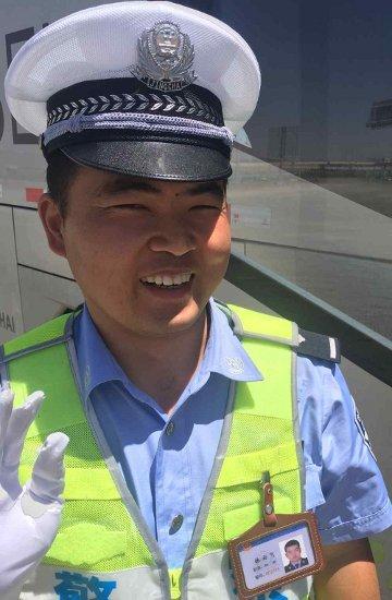 36. Tag: Polizeikontrolle 20 Minuten Ruhepause (Thomas Peters) zusätzlich erhalten