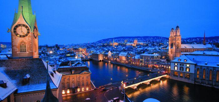 Zürich im Winterglanz