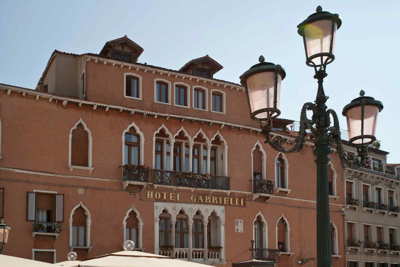 Hotel Gabrielli von Außen