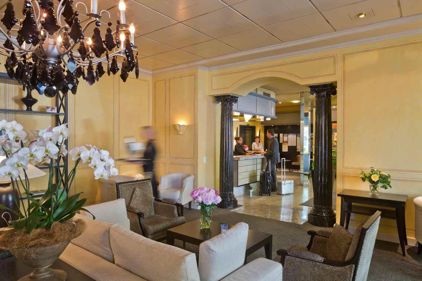 Hotellobby_Hotel Opera_Zürich_Advent
