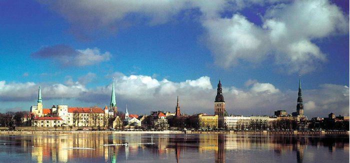 Skyline von Riga