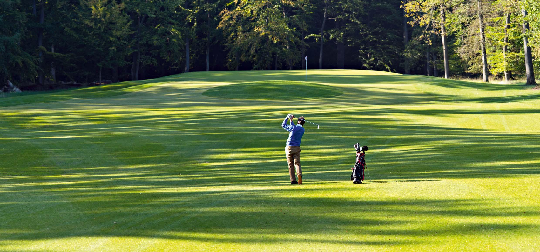 Golf Spieler