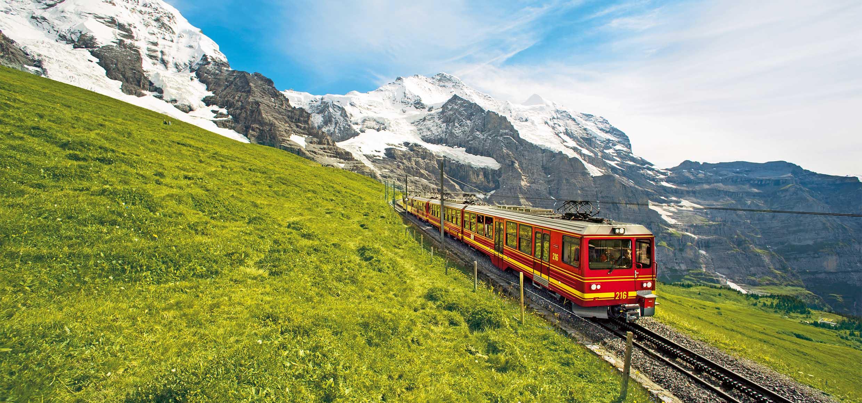 Jungfraubahn in Wengen