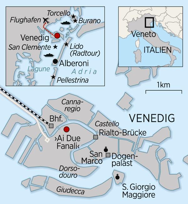 Venedig_Karte