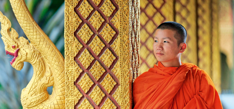 Buddhist in Laos