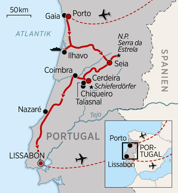 Portugal-Wandern_Karte_2017