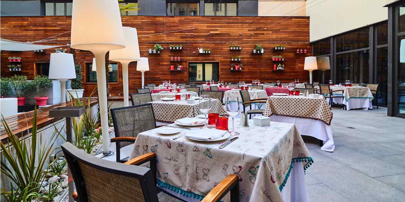 Restaurant Hotel Vincci Soho