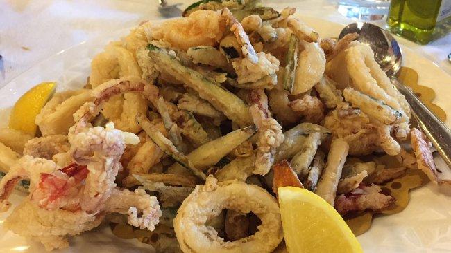 Frisierte Meeresfrüchte