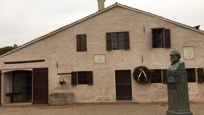 Geburtshaus von Verdi in Roncole