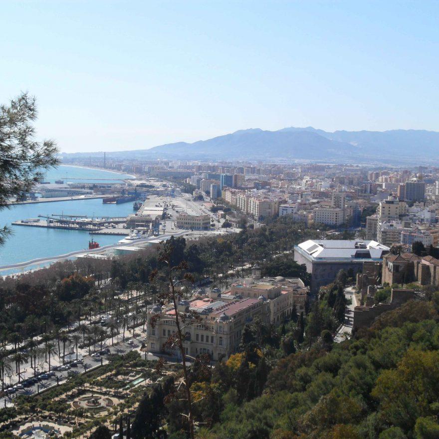 Andalusien Blick auf die Stadt