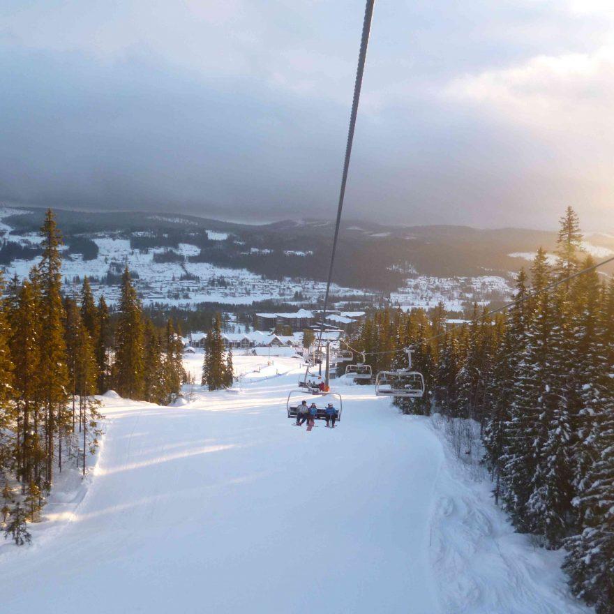 Norwegen Skilift