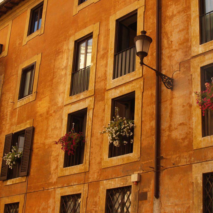 Rom Häuserwand