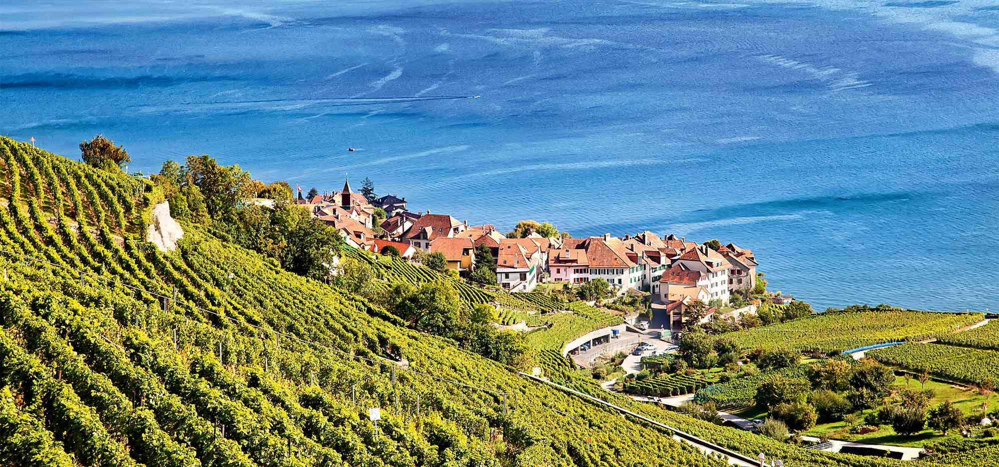 Schweiz, Westschweiz,Genfer See