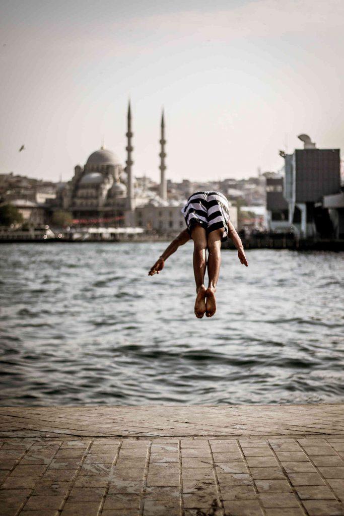 Jump into Bosporus