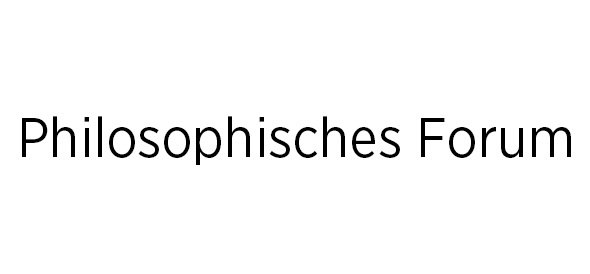 Philosophisches Forum
