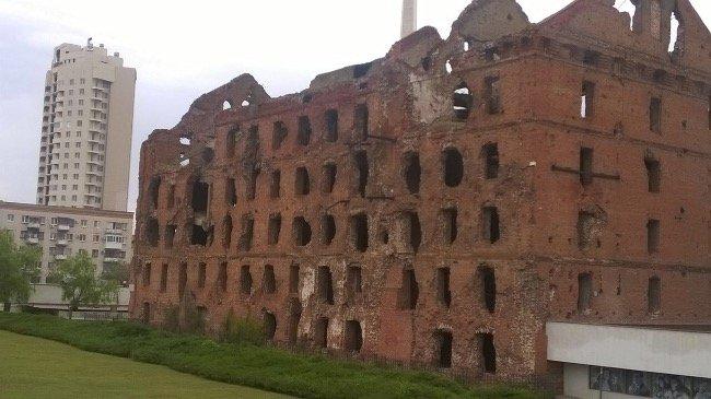 Geschichtsträchtige Ruinen in Wolgograd (Michael Thumann)