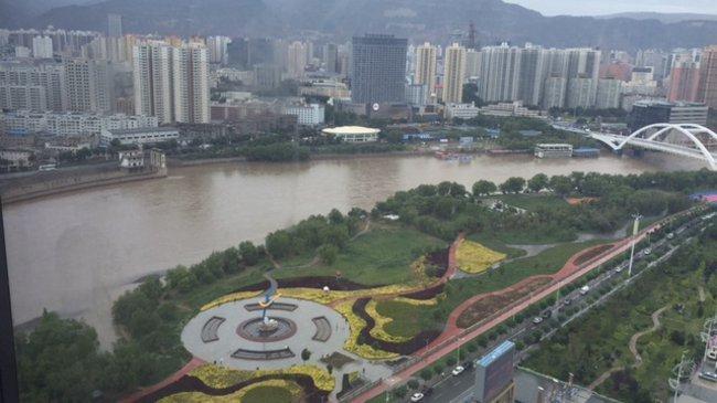 Standansicht von Lanzhou