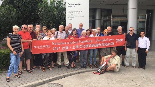 Gruppenbild von Team Shanghai