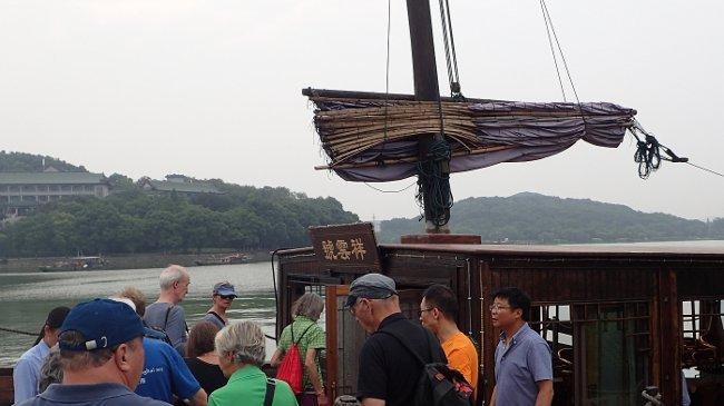 Dschunkenfahrt auf Tai Hu See (Peter Rullhusen)