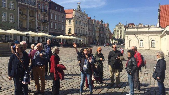 Stadtführung in Posen mit Barbara Mandelke